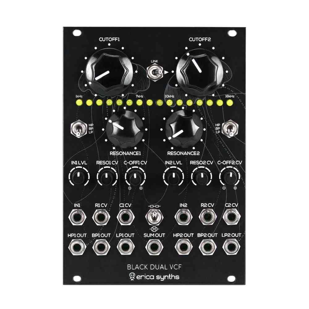 Erica Synths Black Dual VCF Eurorack Filter Module